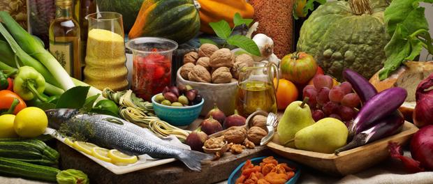 Čerstvé potraviny pro dostatek vitaminů