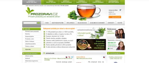 Eshop ProZdravi.cz recenze a informace